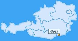 PLZ 8543 Österreich