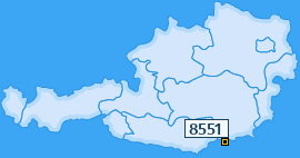 PLZ 8551 Österreich