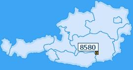 PLZ 8580 Österreich