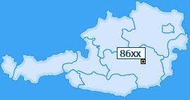 PLZ 86 Österreich