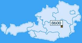 PLZ 8600 Österreich