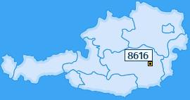 PLZ 8616 Österreich