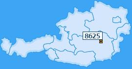 PLZ 8625 Österreich