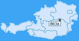 PLZ 863 Österreich