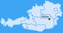 PLZ 866 Österreich