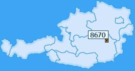 PLZ 8670 Österreich