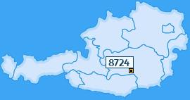 PLZ 8724 Österreich