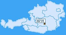 PLZ 8731 Österreich