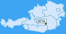 PLZ 8734 Österreich