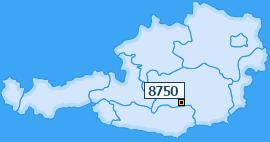 PLZ 8750 Österreich