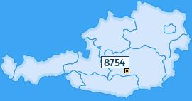 PLZ 8754 Österreich