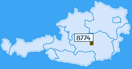 PLZ 8774 Österreich