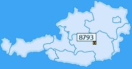 PLZ 8793 Österreich