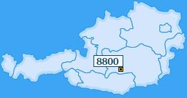PLZ 8800 Österreich