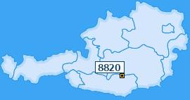 PLZ 8820 Österreich