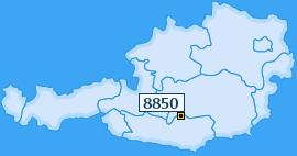 PLZ 8850 Österreich
