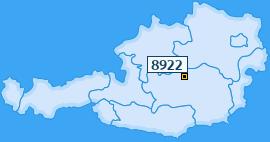 PLZ 8922 Österreich