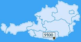 PLZ 9100 Österreich