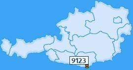 PLZ 9123 Österreich