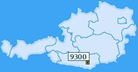 PLZ 9300 Österreich