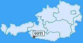 PLZ 9911 Österreich