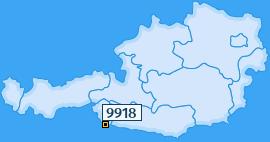 PLZ 9918 Österreich