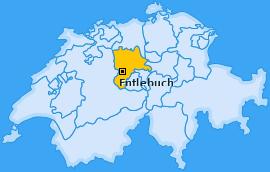 Wahlkreis Entlebuch Landkarte