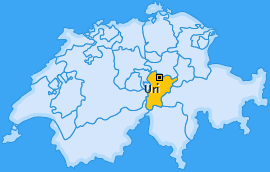 Kanton Uri Landkarte