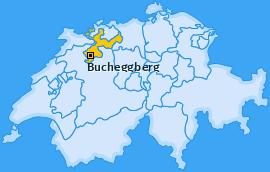 Bezirk Bucheggberg Landkarte