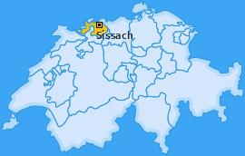 Bezirk Sissach Landkarte