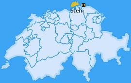 Bezirk Stein Landkarte