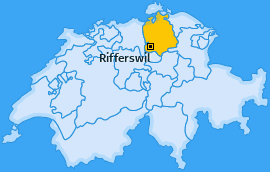 Karte von Rifferswil