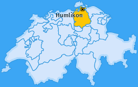 Karte von Humlikon