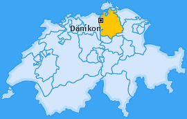 Karte von Dänikon