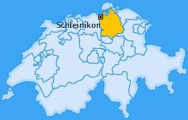 Karte von Schleinikon