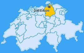 Karte von Dättlikon