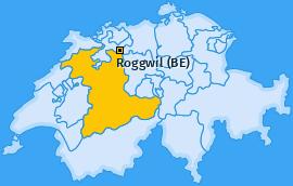 Karte von Roggwil (BE)