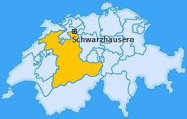 Karte von Schwarzhäusern