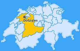 Karte von Dotzigen
