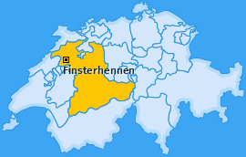 Karte von Finsterhennen