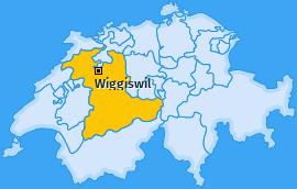 Karte von Wiggiswil