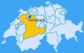 Karte von Zielebach