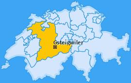 Karte von Gsteigwiler