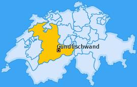 Karte von Gündlischwand