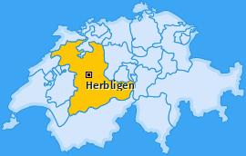 Karte von Herbligen