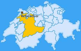 Karte von Rebévelier