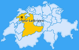 Karte von Sutz-Lattrigen