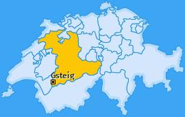 Karte von Gsteig