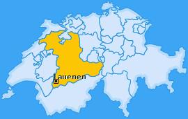 Karte von Lauenen