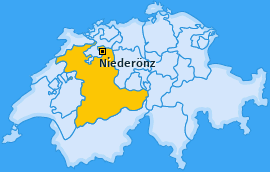 Karte von Niederönz